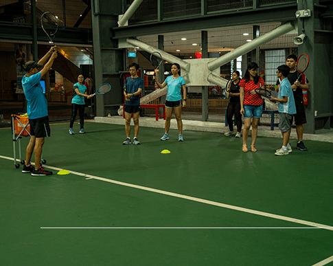 Corporate Tennis Program