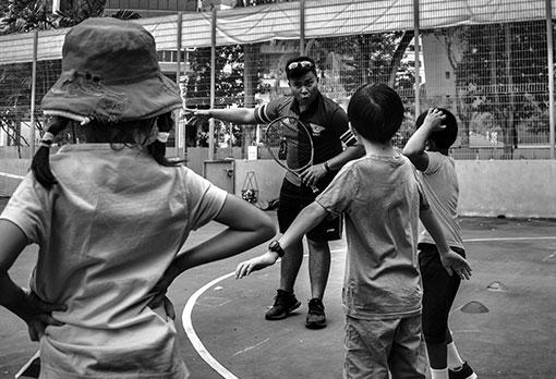 Kids Tennis Program